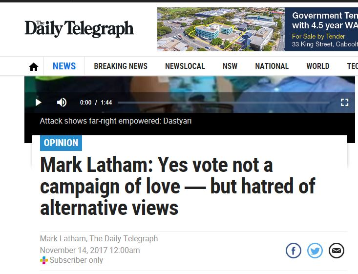 Latham alternative views